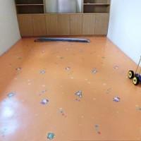 广东清远顺德深圳幼儿园翻新地板注意事项 幼儿园地胶垫室内PVC塑胶地板游乐场加厚地板革 卡通地垫