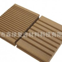 户外地板 木塑地板 广东实心地板145-25双面