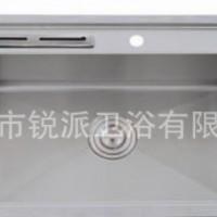 广东手工水槽单槽菜盆304不锈钢加厚台上盆洗菜盆7645
