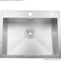 厨房水槽 手工槽 单槽套餐 304不锈钢 加厚 超大