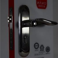 现代五金机械门锁零售室内门锁不锈钢房门锁锁具执手钢木门锁