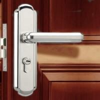 顺辉五金门锁304不锈钢门锁室内门锁卧室房门锁具执手锁特价包