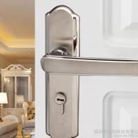 【NANO/莱诺】304不锈钢室内卧室房门锁欧式门锁木门锁双舌执手锁