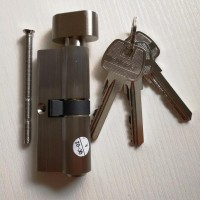 来福时 F8531 门锁锁芯 精铸不锈钢 304分体门锁执手 室内进户锁 插芯木门用锁把手 室内门锁