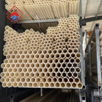 ABS耐腐蚀管材 米黄色管材  高分子管材 abs管子 abs加药管