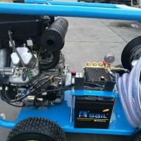 伍德柴油机驱动下水道疏通机 柴油机高压疏通机 汽油机驱动高压疏通机