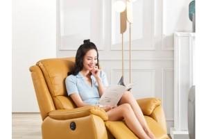 客厅变身私人影院 京东秋季家装节进口功能沙发成交额同比增长154%